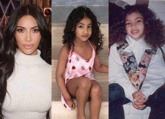 """Kim Kardashian wspomina dzieciństwo. Fani: """"Wyglądasz jak North"""" (FOTO)"""