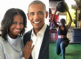 Michelle Obama śpiewa trenując. Tak motywuje do ćwiczeń