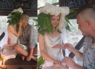 Margaret i KaCeZet WZIĘLI ŚLUB z błogosławieństwem szamanów (ZDJĘCIA)