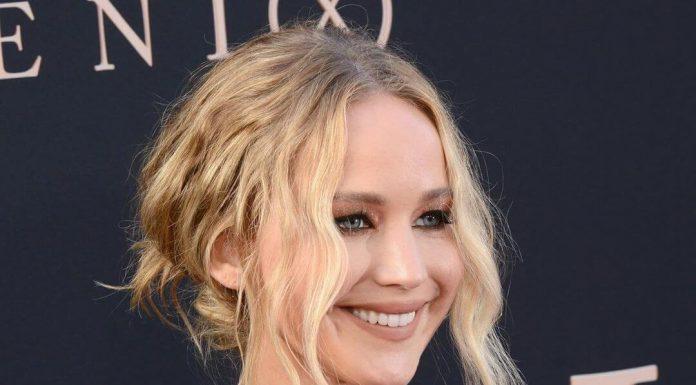 Jennifer Lawrence: Nie patrzcie w górę