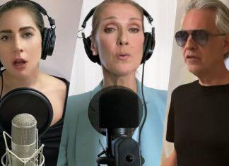 Together at Home Celine Dion, Lady Gaga, John Legend i Andrea Bocelli... Zobacz niezwykły występ!