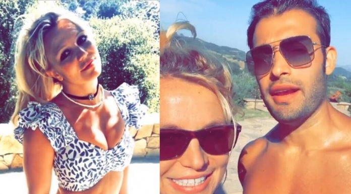 Britney Spears i Sam Asghari podbijają Internet