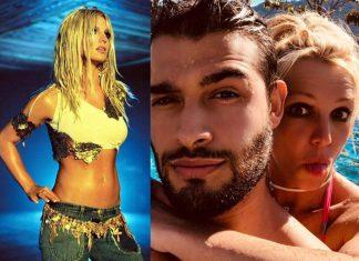 Britney Spears w basenie.